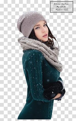 Wool Knit cap Bonnet Scarf Headgear, tube PNG clipart