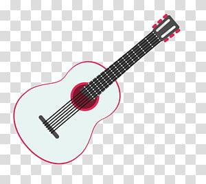 Steel-string acoustic guitar Electric guitar Rock music, Folk-rock guitar material PNG
