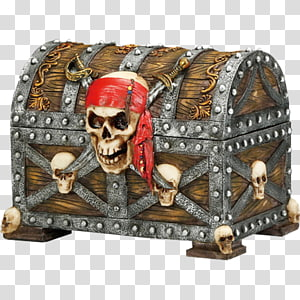 Treasure Piracy Casket Jewellery Box, Jewellery PNG clipart