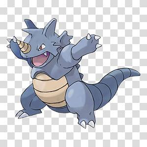 Pokémon Red and Blue Pokémon GO Rhydon Rhyhorn, pokemon go PNG