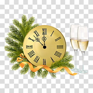 New Year\'s Eve New Year\'s Day , A watch PNG
