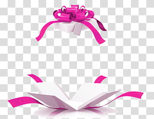 white and pink gift box illustration, Gift basket Box Tablet computer, Open gift box PNG clipart