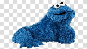 Cookie Monster, Sesame Street Cookie Monster Thinking PNG
