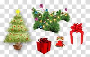 Christmas tree Christmas gift Christmas decoration, Christmas Gift PNG clipart