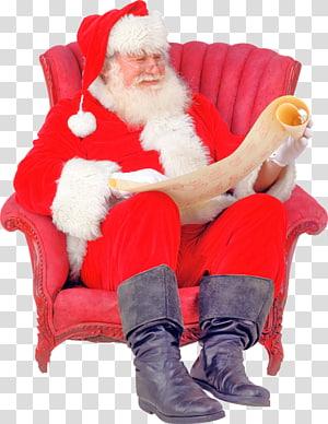 Santa Claus Mrs. Claus Christmas Ded Moroz Letter, Uq PNG