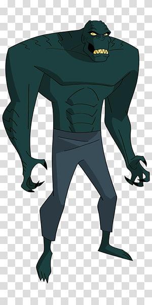 Killer Croc Batman Killer Frost DC Comics, batman PNG