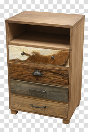 Chest of drawers Bedside Tables Furniture, dark biography PNG