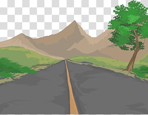 Road Euclidean Illustration, road PNG clipart