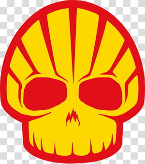 Royal Dutch Shell Sticker Petroleum Decal Shell Oil Company, skull PNG clipart