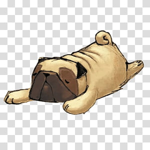 Pug Sticker Telegram Snout Animal, others PNG