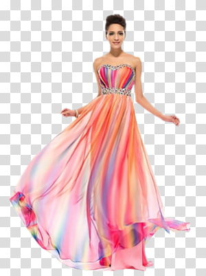 Evening gown Dress Ball gown Prom, dress PNG