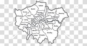 London Borough of Southwark London boroughs Map London Borough of Bromley, brixton surrey england PNG clipart