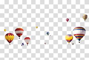 hot air balloons, Hot air balloon , Floating hot air balloon PNG
