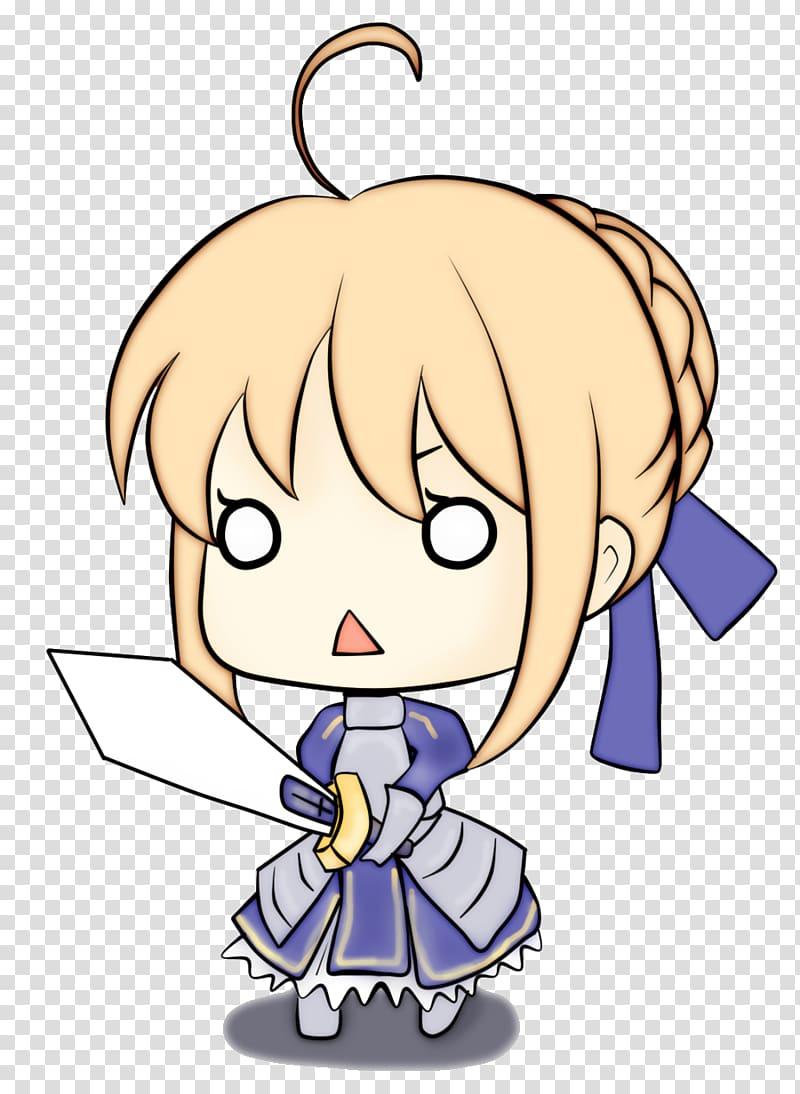 Fate/stay night Saber Fate/Zero Fate/Extra Shirou Emiya, Chibi PNG