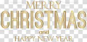Christmas New Year\'s Day , lovely text PNG