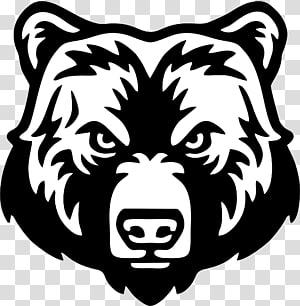 Polar bear Grizzly bear graphics American black bear, bear PNG