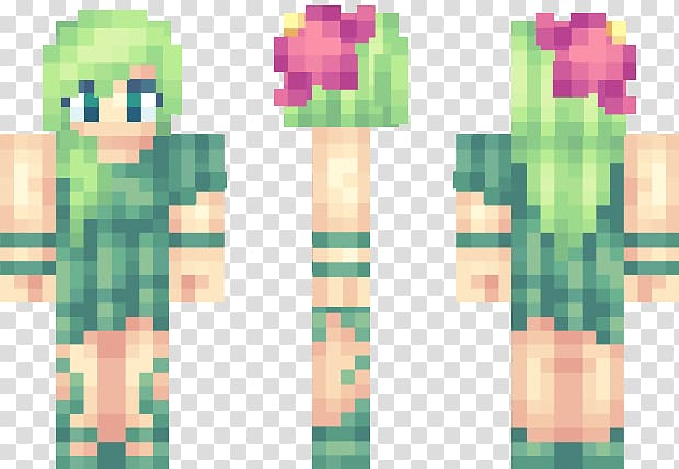 Minecraft Video Games Creeper , skin minecraft girl PNG