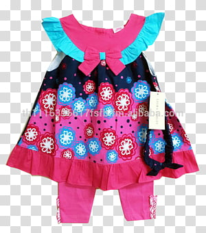 Clothing Dress Magenta Pink Turquoise, KIDS CLOTHES PNG
