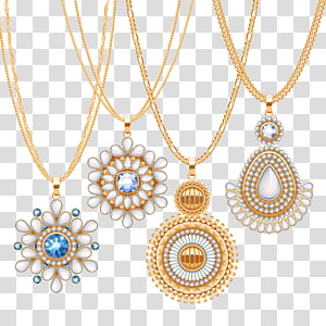 Gold Necklace Euclidean Jewellery, Noble jewelry PNG clipart