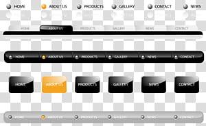 Web navigation Navigation bar Web design Website, web navigation design PNG clipart