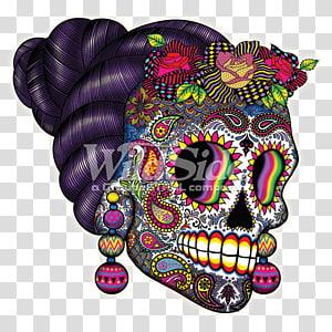 La Calavera Catrina Human skull symbolism Day of the Dead, Day Of The Dead PNG
