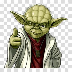Yoda Telegram Sticker Kik Messenger Advertising, others PNG