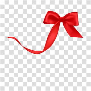 red ribbon , Ribbon Textile, ribbon PNG