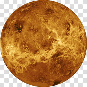 brown moon, Earth Venus Planet Solar System Atmosphere, Venus PNG clipart