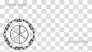 JoJo\'s Bizarre Adventure Stand Stardust Crusaders Product design Circle, stand fan PNG