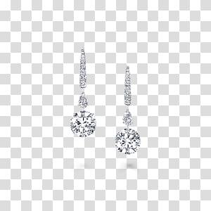 Earring Graff Diamonds Jewellery Gemstone, diamond PNG