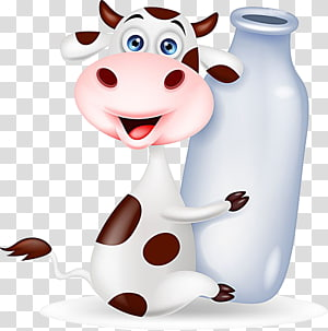 milk cow PNG clipart