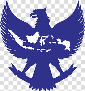 blue eagle logo, National emblem of Indonesia Garuda Cdr, garuda pancasila PNG clipart