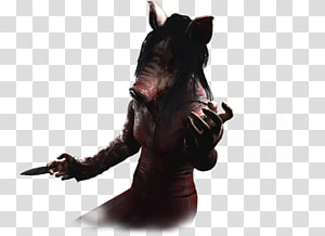Dead by Daylight Pig Amanda Young Snout Saw, pig PNG clipart