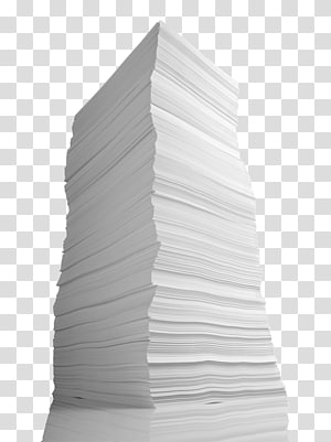 Term paper Essay, Pile Of Paper PNG