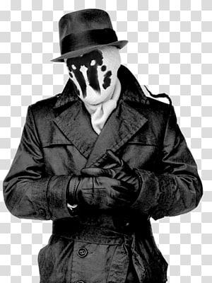 Rorschach Question Doctor Manhattan Watchmen Comics, inkblot PNG clipart
