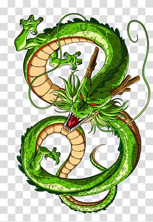 Dragon Ball Z dragon illustration, Shenron Goku Gohan Vegeta Dragon Ball, dragon ball PNG clipart