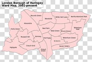 Haringey London Borough Council White Hart Lane Map London Borough of Enfield London Borough of Southwark, map PNG clipart
