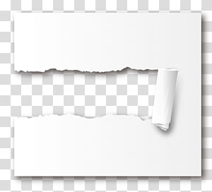 Paper Icon, Tear effect PNG clipart