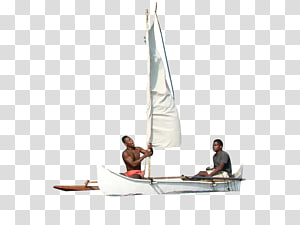 Sailing Cat-ketch Scow Yawl, sail PNG clipart