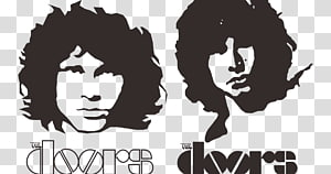 Jim Morrison The Doors Logo, others PNG clipart
