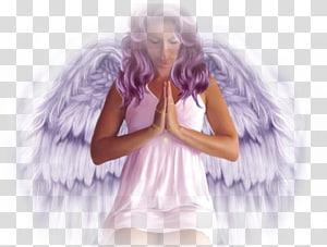 Fallen angel Prayer Desktop Fairy, angel PNG