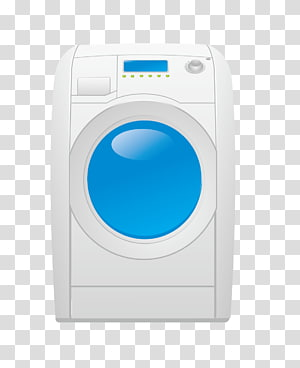 Washing machine Laundry Clothes dryer, washing machine PNG clipart