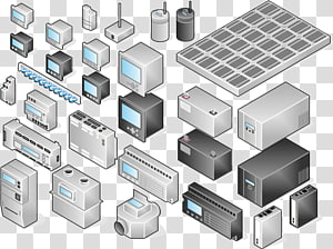 Microsoft Visio Programmable Logic Controllers Computer Icons Computer network Information, Visio PNG