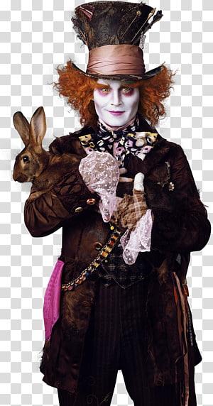 Alice in Wonderland Mad Hatter illustration, Helena Bonham Carter The Mad Hatter Alice in Wonderland Film, mad hatter PNG clipart
