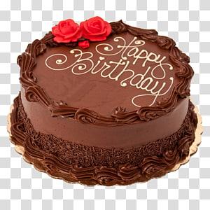 Birthday cake Chocolate cake Chocolate chip cookie Happy Cake, chocolate cake PNG