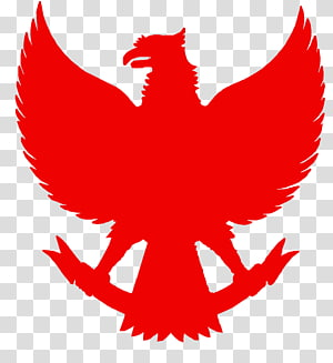 red phoenix logo, Garuda Wisnu Kencana Cultural Park Logo National emblem of Indonesia, emblem PNG