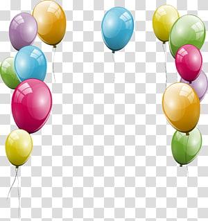 balloon , Balloon Party Birthday cake , ballon PNG clipart