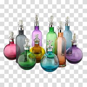 Glass bottle Plastic bottle Liquid, stopper PNG