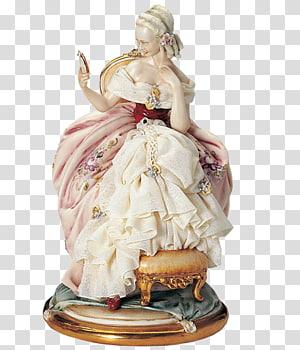Porcelain Figurine Ceramic Volkstedt Dresden, others PNG