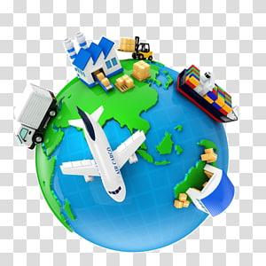 Logistics International trade Export Transport, others PNG